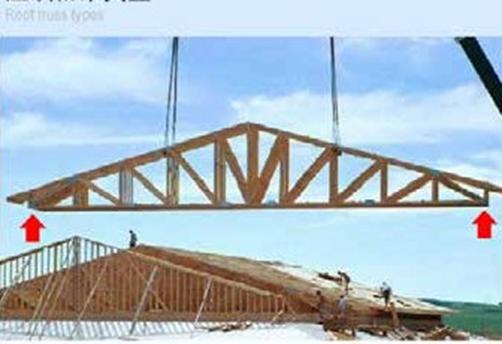 木屋批发厂家木构屋顶桁架安装示意图