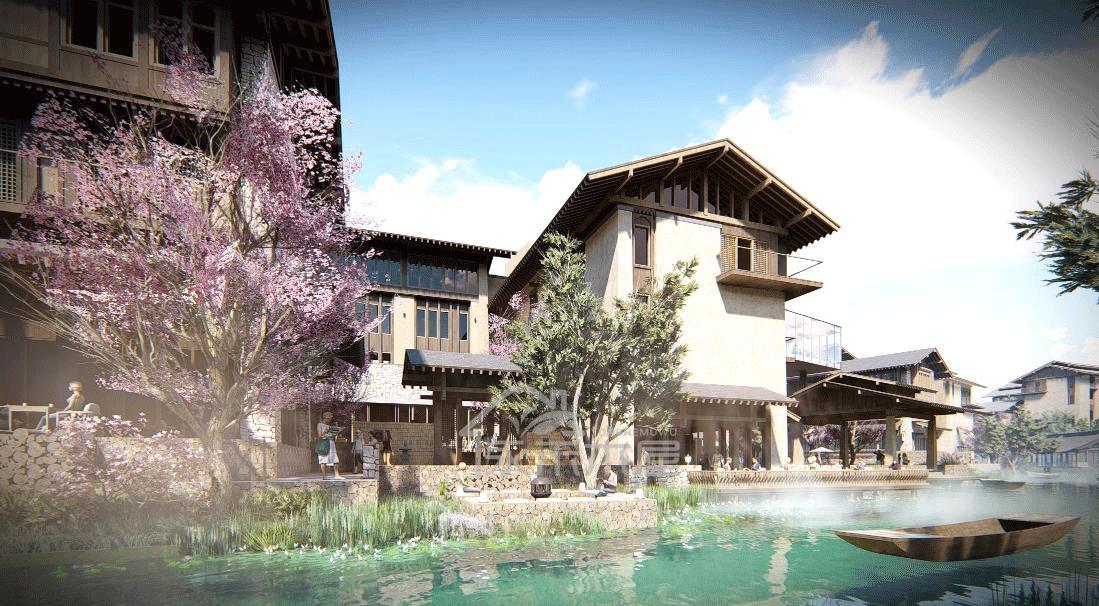 木屋厂家混合木结构02