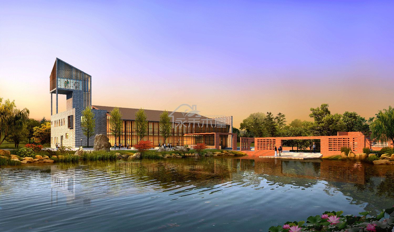 木屋公司展示中心案例