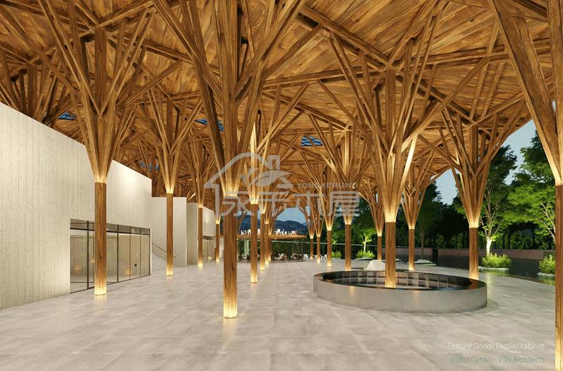 木屋建造案例图片