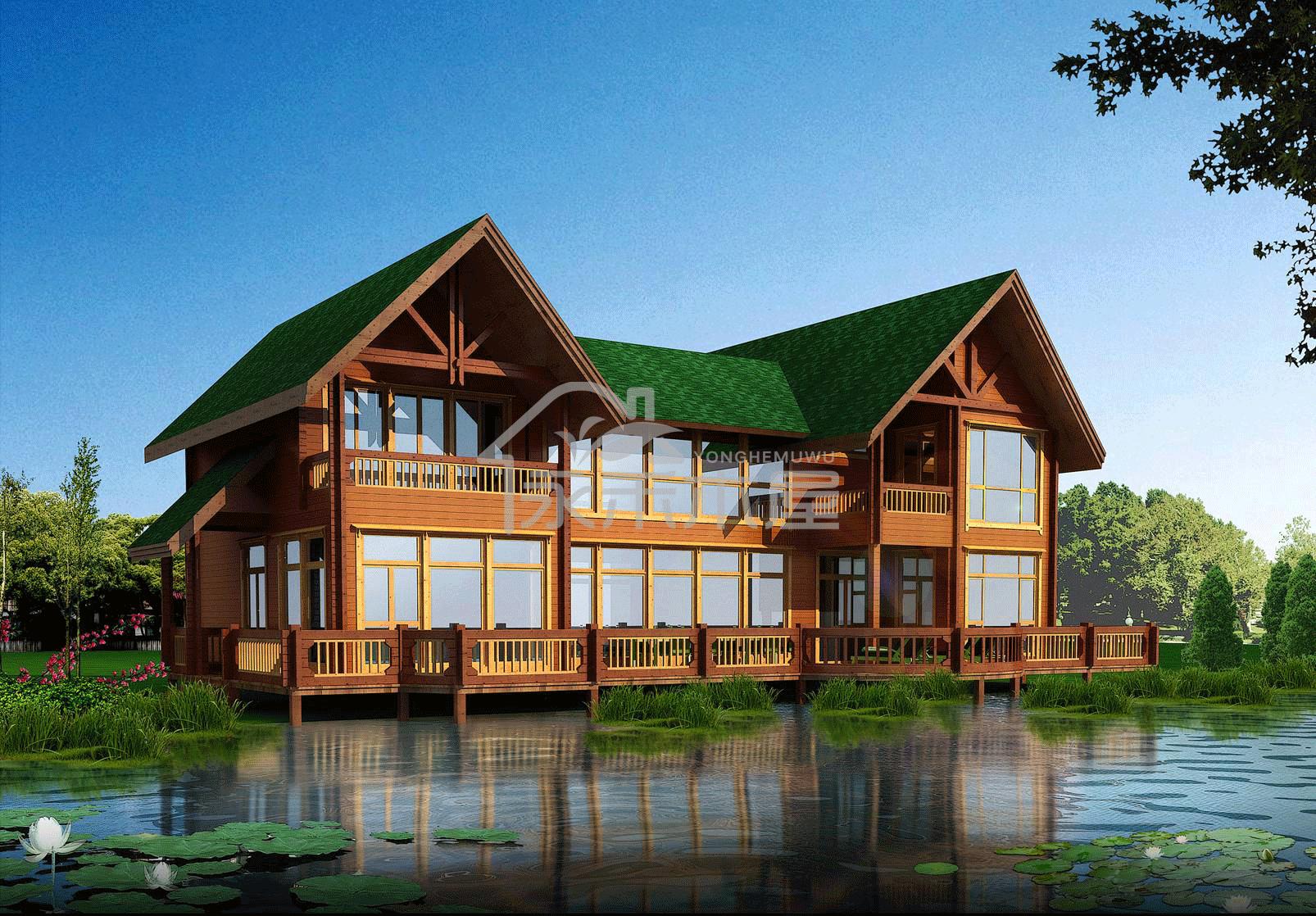木屋厂家案例设计图