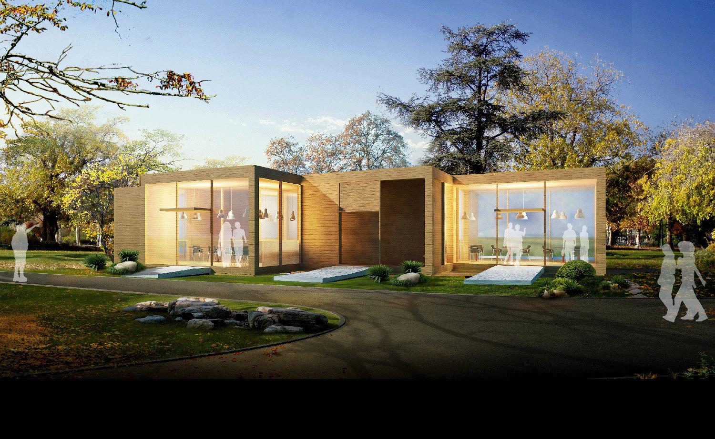 休闲木屋厂家项目图片