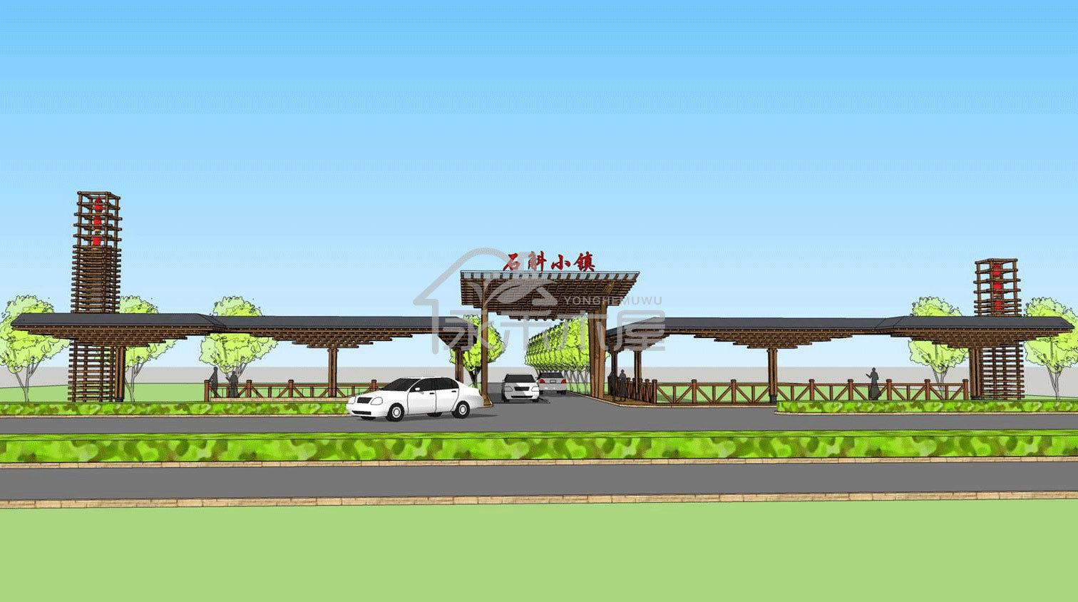 制造木屋厂家案例设计图