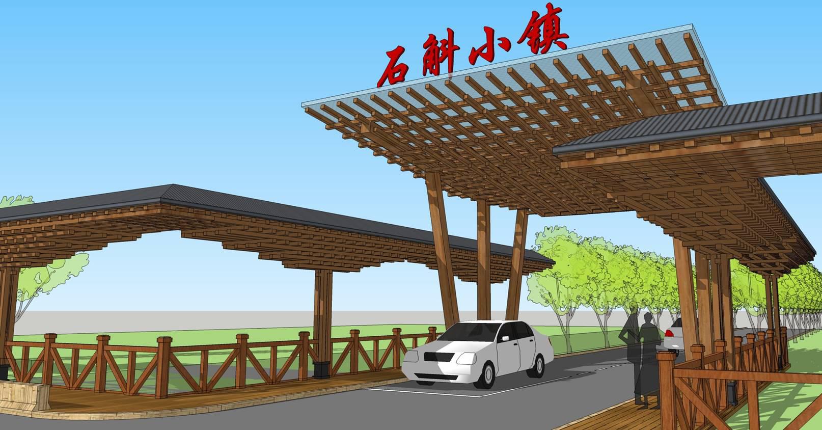 小木屋生产厂家案例设计图