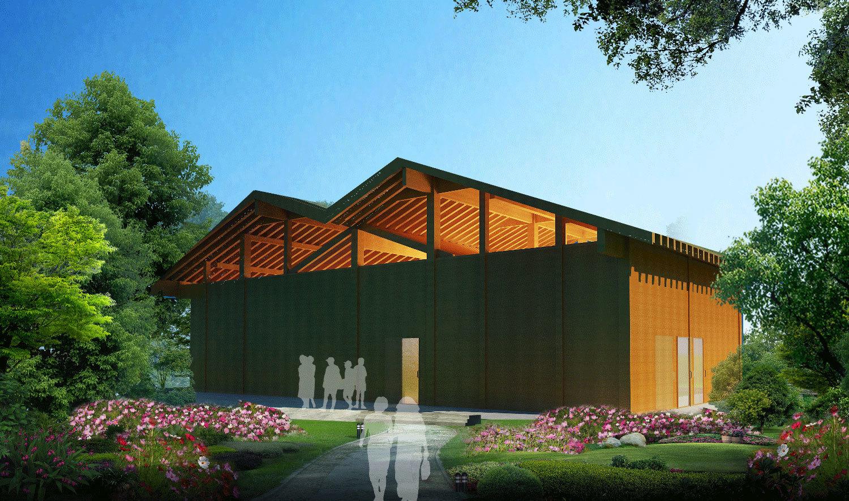 生态木屋厂家案例图